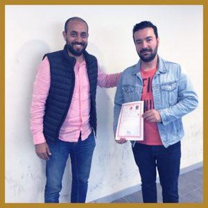 استلام طابو عقارات في اسطنبول لأحد عملاء شركة ياقوتة